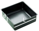 square cake tin conversion